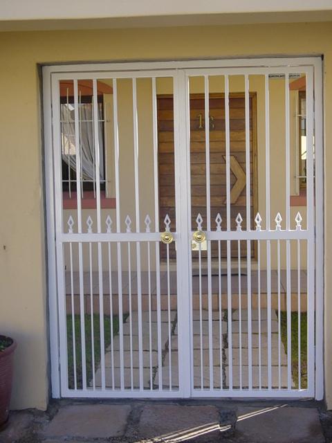 security gates solid burglar proofing
